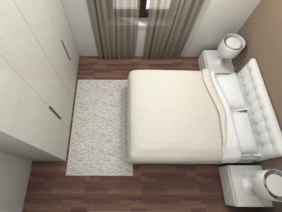 Appartamento Stadio Via Albere Camera da letto