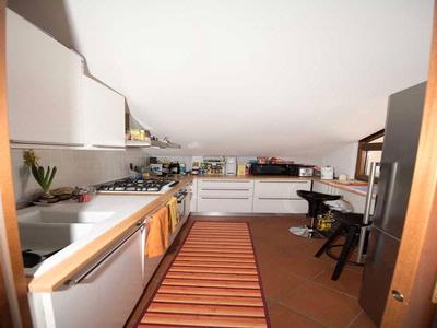 Cucina della mansarda